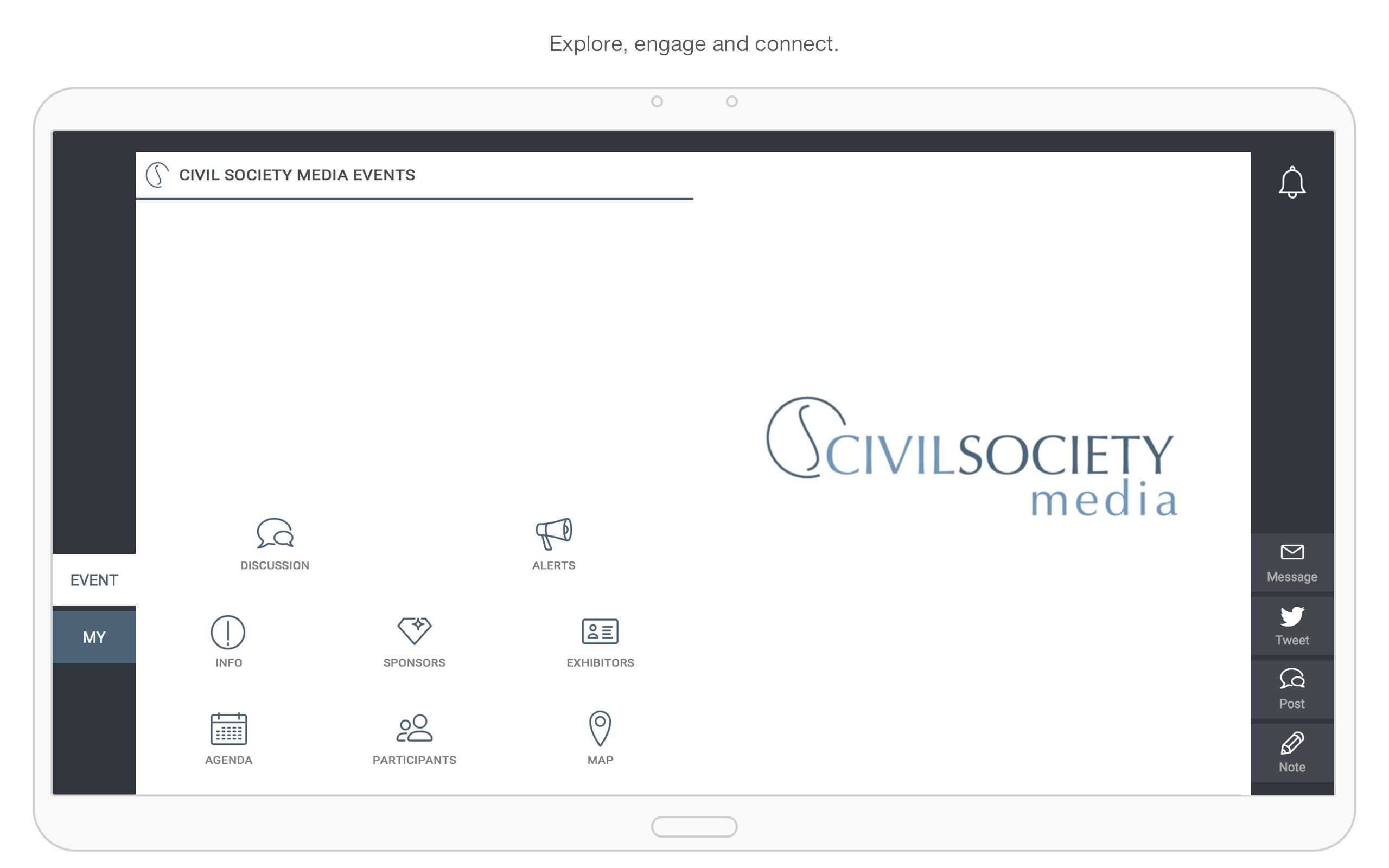 Civil Society Media Events screenshot 5