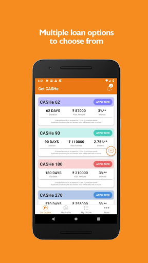 Instant Loan App with Quick Cash Approval - CASHe screenshot 3