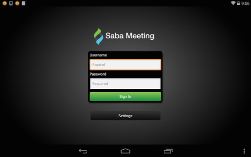 Saba Meeting screenshot 6