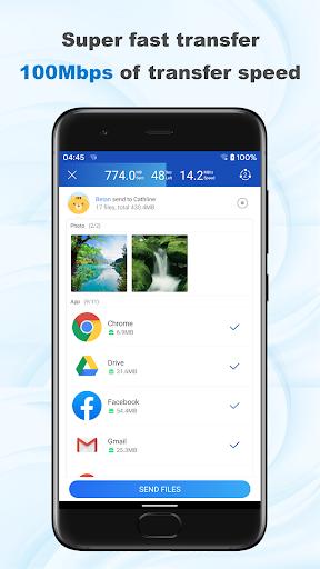 ShareMi - स्थानांतरण, शेयर, डेटा कॉपी, फोन क्लोन स्क्रीनशॉट 4
