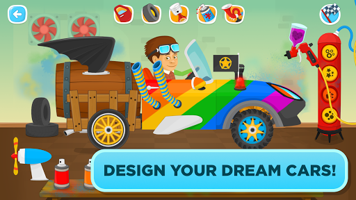 Garage Master - fun car game for kids & toddlers screenshot 2