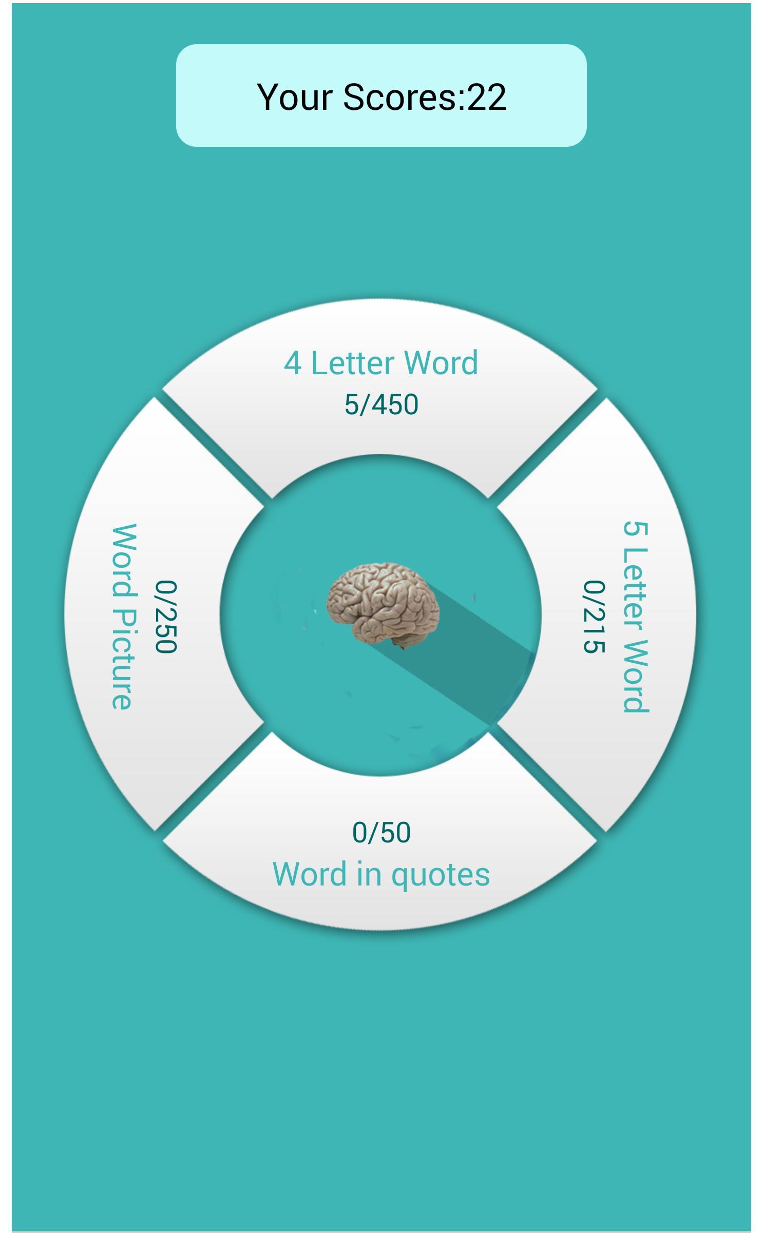 Word search free-brain puzzle: screenshot 2