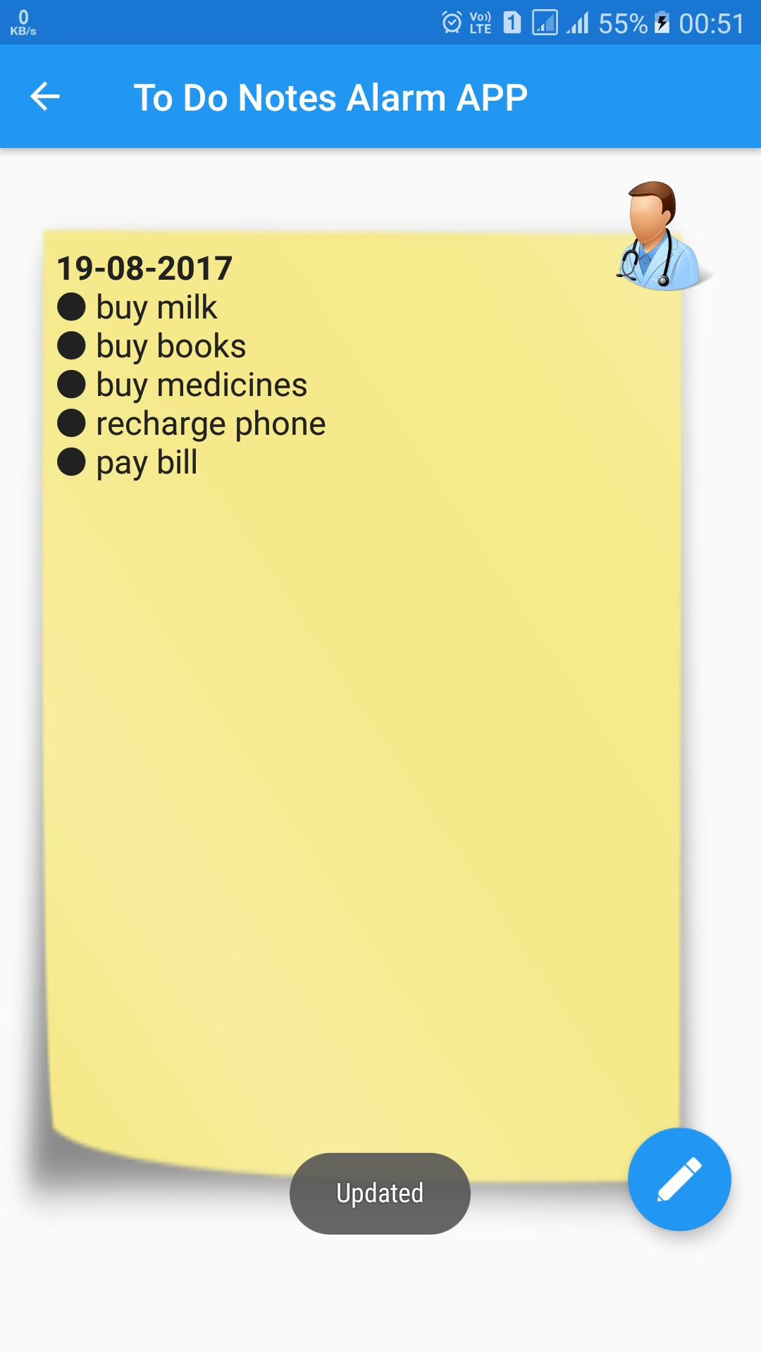 To Do List Notes Alarm Color Reminder Note Notepad screenshot 4