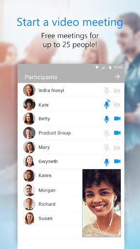 U Meeting, Webinar, Messenger screenshot 2