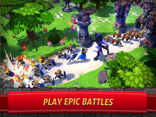 Royal Revolt 2: إمبراطورية RPG - حرب جيش تصادم 10 تصوير الشاشة