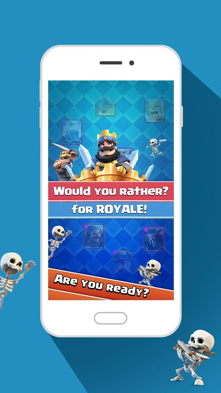 Would You Rather For Royale! 3 تصوير الشاشة