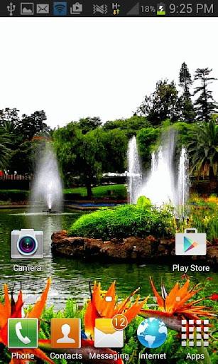 Park Fountains LWP screenshot 2