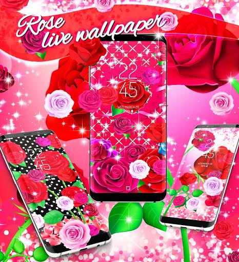 2020 Roses live wallpaper screenshot 5
