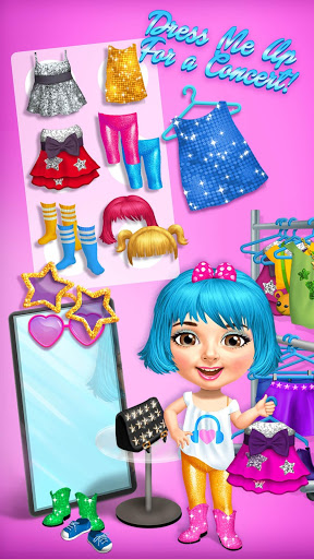 Sweet Baby Girl Pop Stars - Superstar Salon & Show 4 تصوير الشاشة
