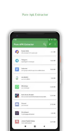 Pure Apk Extractor - App Backup and Restore 2 تصوير الشاشة