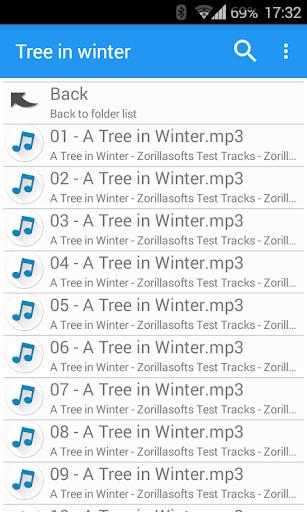 Music Folder Player Free 4 تصوير الشاشة