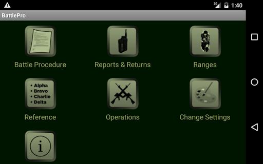 Battle Procedure Aide Memoire screenshot 5