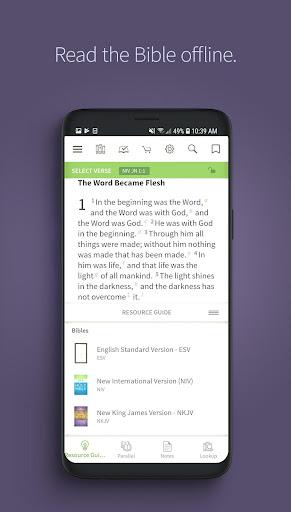 Bible App by Olive Tree screenshot 1