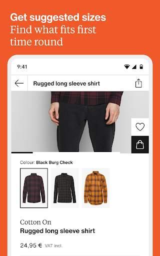 Zalando – fashion, inspiration & online shopping screenshot 13