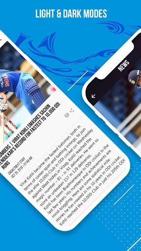 CricketNext – Live Score & News 8 تصوير الشاشة