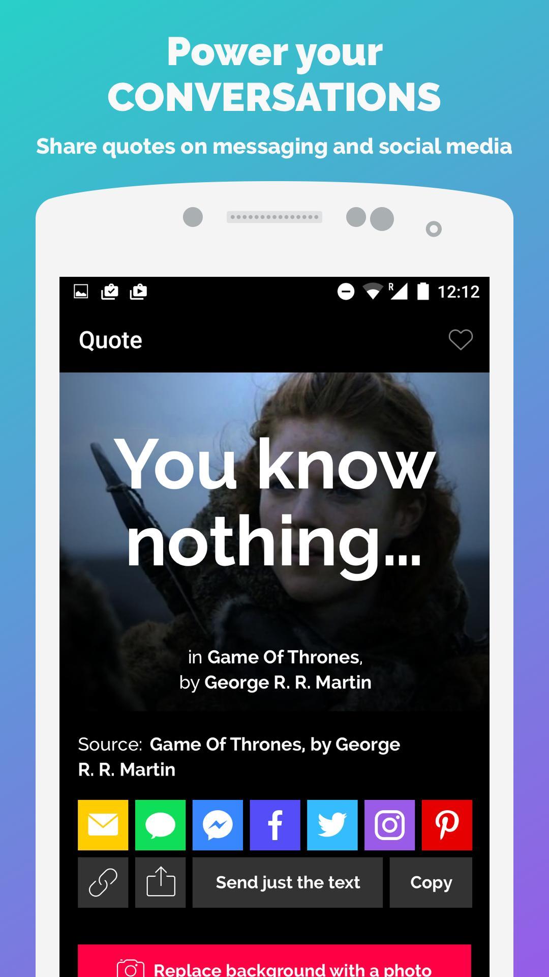 GIF Quotes 3 تصوير الشاشة