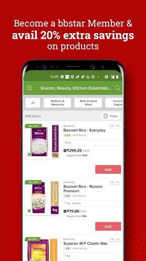 bigbasket - Online Grocery Shopping App скриншот 4