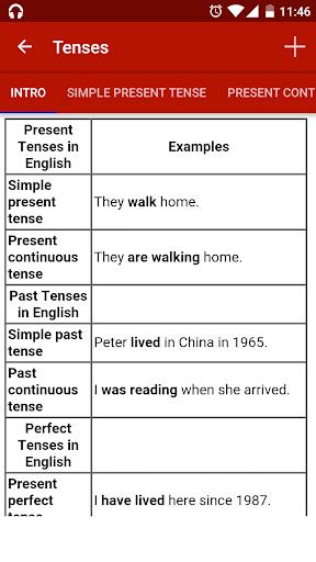 English Grammar Master स्क्रीनशॉट 3