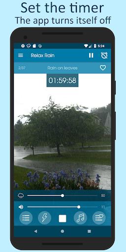 الاصوات من المطر 5 تصوير الشاشة