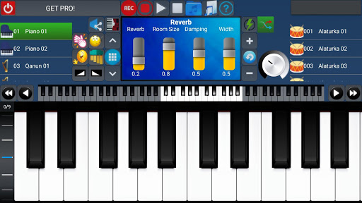 Portable ORG Keyboard 5 تصوير الشاشة