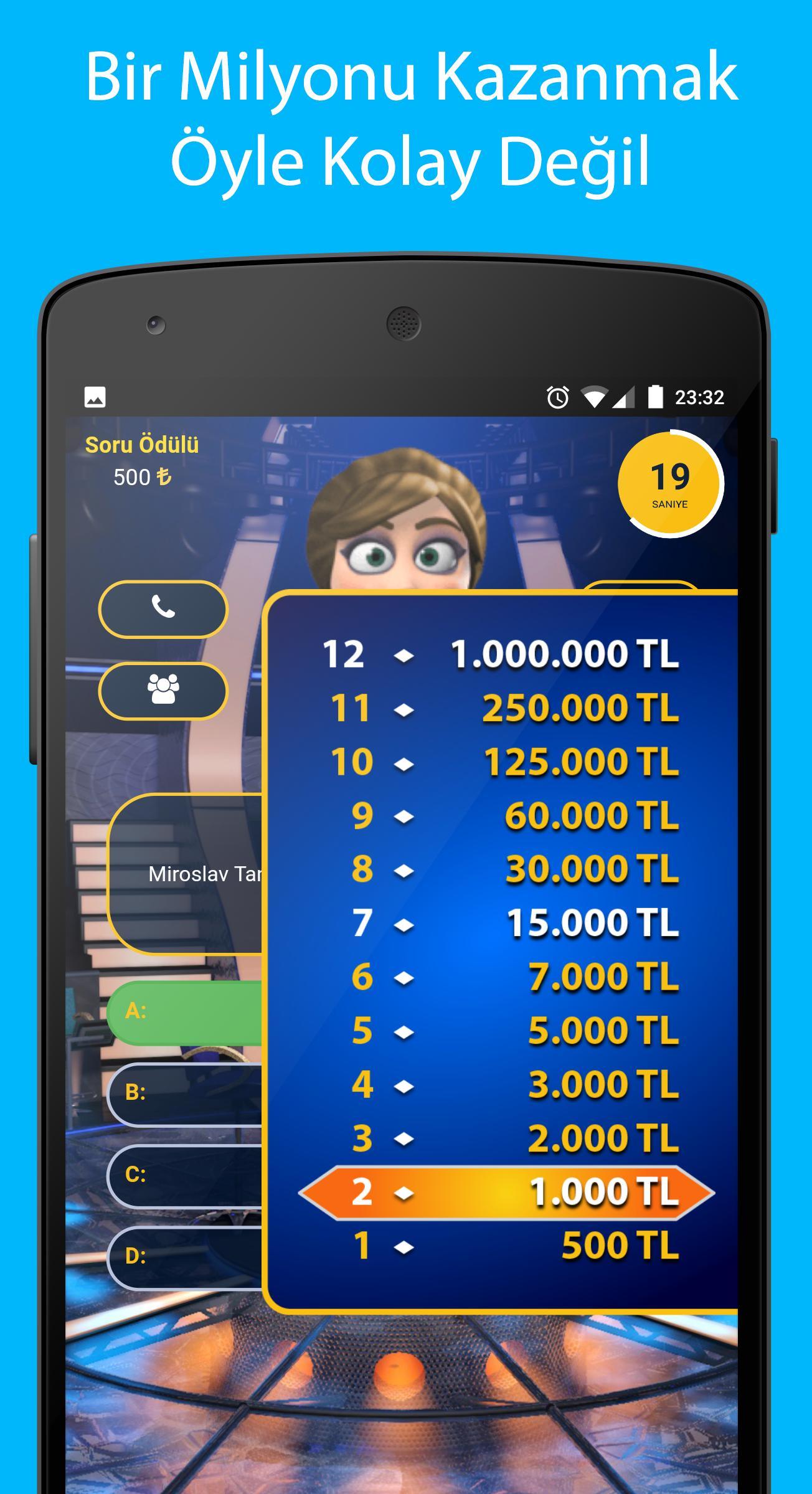 Mega Milyoner 2017 - 50 Bin Soru screenshot 4