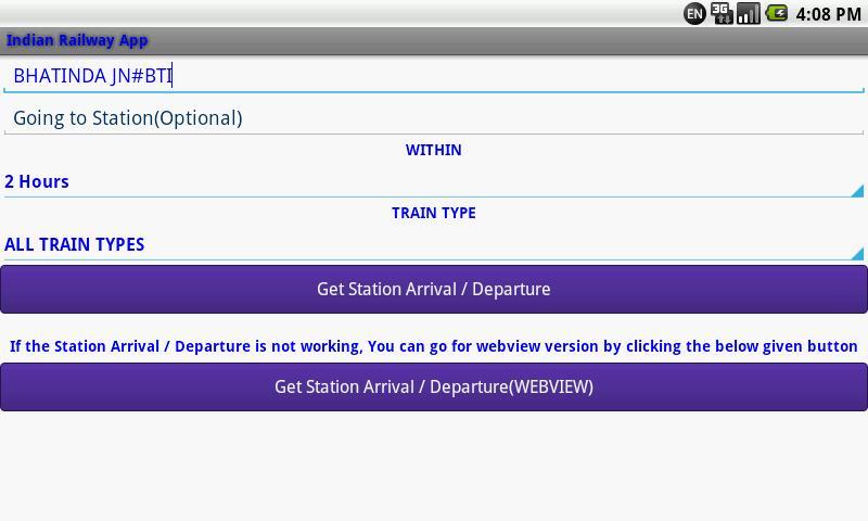 Indian Railway screenshot 18