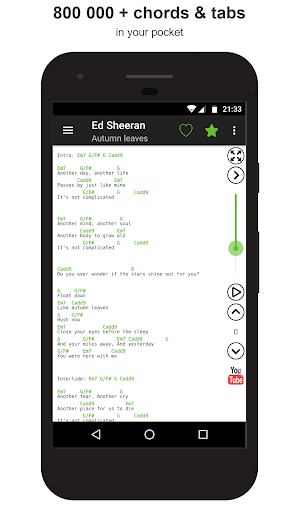 Guitar chords and tabs screenshot 1
