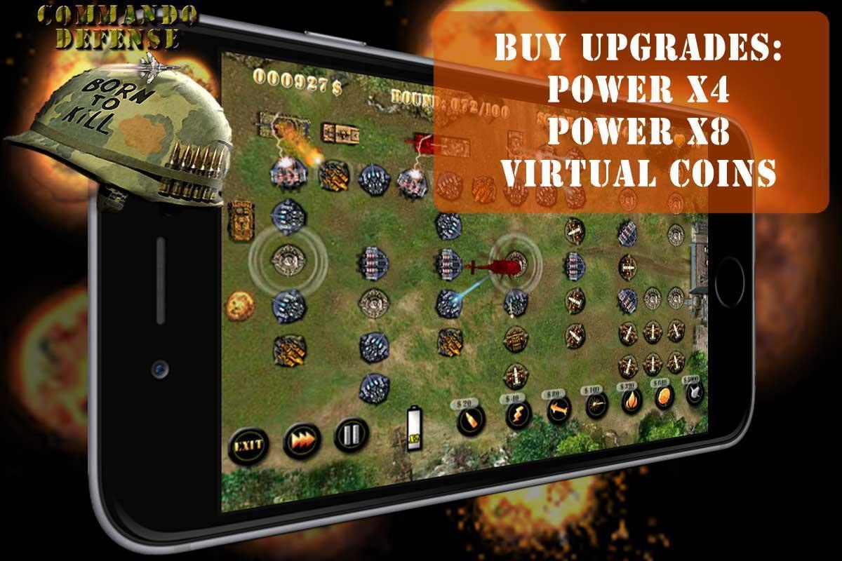 Commando Tower Defense screenshot 5