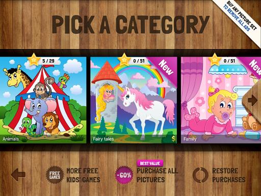 Kids' Puzzles 6 تصوير الشاشة