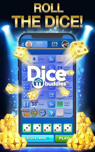 Dice With Buddies™ Free - The Fun Social Dice Game 5 تصوير الشاشة