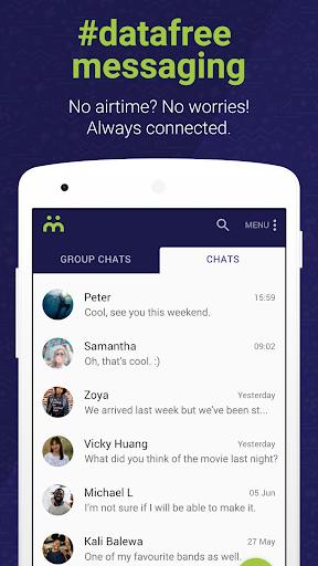 Moya App #datafree 1 تصوير الشاشة