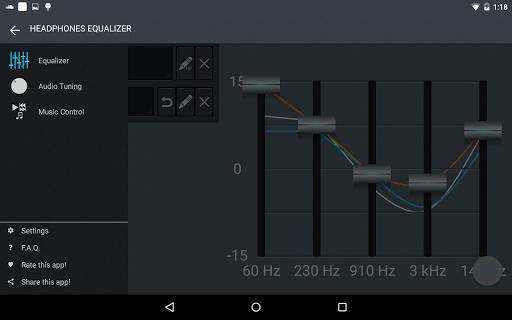 Headphones Equalizer - Music & Bass Enhancer 11 تصوير الشاشة