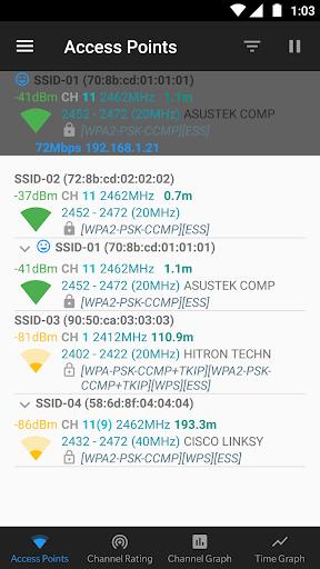 WiFi Analyzer (open-source) screenshot 10