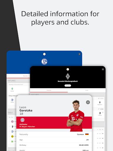BUNDESLIGA - Official App 14 تصوير الشاشة