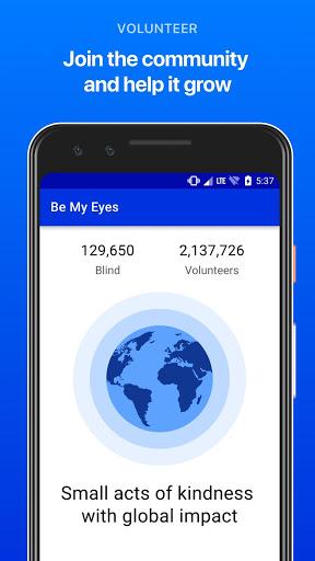 Be My Eyes - مساعدة المكفوفين 5 تصوير الشاشة