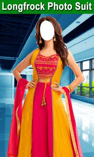 Longfrock Photo Suit for girls : Women long dress screenshot 2