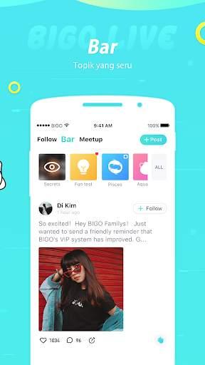 Bigo Live-#1 Live Streaming, Live Video, Live Chat screenshot 8