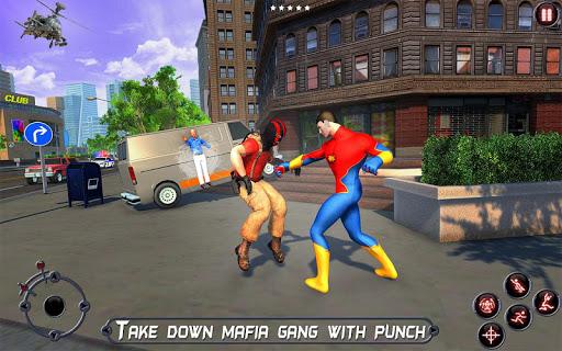 Rope Amazing Hero Crime City Simulator screenshot 11