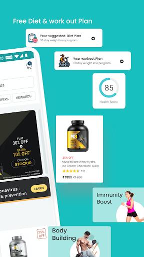 HealthKart: Health & Bodybuilding Supplements App screenshot 2