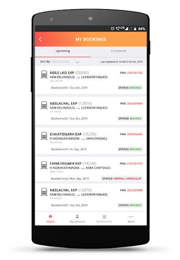 IRCTC Rail Connect - for RAIL SAARTHI screenshot 5