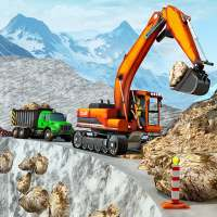 Snow Offroad Construction Excavator on 9Apps