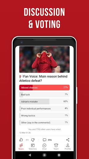 LFC Live – Unofficial app for Liverpool fans screenshot 6