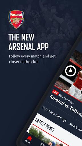 Arsenal Official App 1 تصوير الشاشة