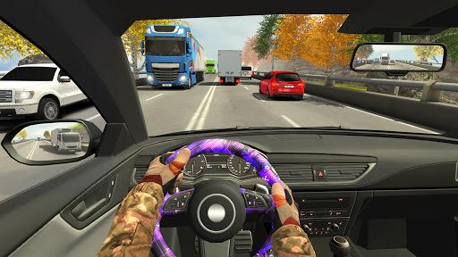Highway Driving Car Racing Game : Car Games 2020 1 تصوير الشاشة