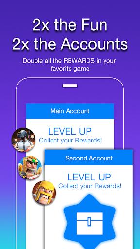 2Accounts - Dual Space & Dual Apps screenshot 3