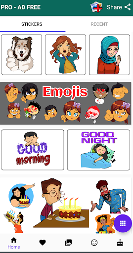 Stickers For WhatsApp ( WAStickerApps ) screenshot 2