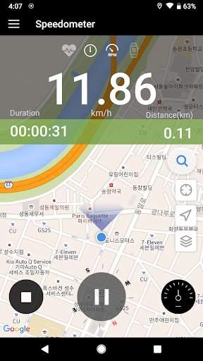 Openrider - GPS Cycling Riding 4 تصوير الشاشة