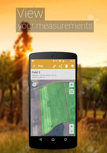 قياس منطقه الحقول 4 تصوير الشاشة