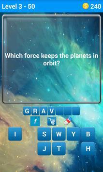Space Quiz 3 تصوير الشاشة