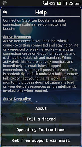 Connection Stabilizer Booster screenshot 3